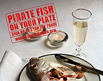Pirate Fishing Campaign for EJF - voluntary work
