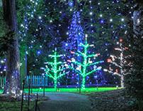 Photo Gallery of Airlie Gardens' Enchanted Airlie