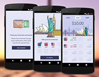 Currency App UI Design