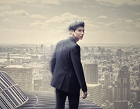 【BAI JING TING】Asian artist effects poster