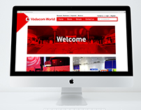 Vodaworld Microsite