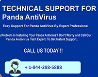 Panda Antivirus Support Number 1-844-298-5888