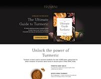 Truvani Landing Page