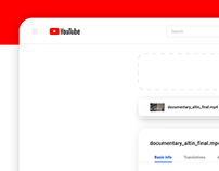 Youtube Upload Redesign