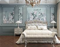 Interior Bedroom.