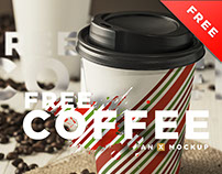 Coffee Branding Mockup - Free