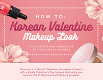 Club Clio PH | How-To: Korean Valentine Makeup