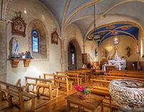 12th Century Pyrennes Church