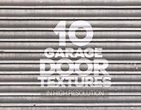Garage Door Textures x10
