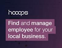 Hooops - SMBs online employee management experiment
