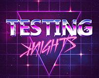 TESTING ꓘNIGHTS