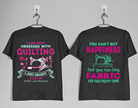 Quilting T shirt designs