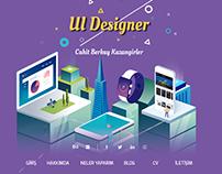 UI Designer - Personal Web Site