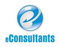 Diseño de logotipo y tarjeta personal - eConsultants
