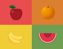 Infográfico Frutas | Infographic Fruits