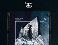 Hyper Sens Poster Template