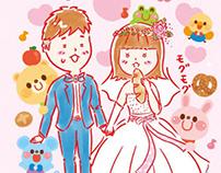 Original/Wedding Illustration