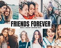 Free Friends Forever Mobile & Desktop Lightroom Preset