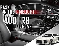 Audi R8 Ad