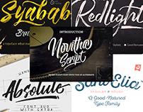 10 Free Premium Handwritten & Script Font