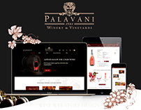 Palavani Wine e-commerce redesign