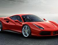 Vetorização Ferrari