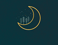 'Moon' Digital Illustration