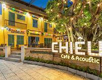 Thiết kế quán cafe sân vườn đẹp 550m2 tại HCM