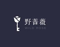 WILD ROSE LOGOS