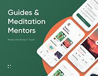 Guides & Meditation App Design | UI/UX