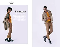 Business Class Magazine: FINE PAIRS