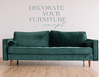 Website: Covers for furniture in the interior