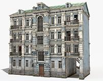 Old Abandoned City House