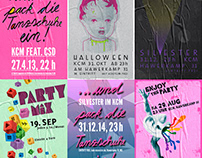 Gay Center Münster / Posters 2009—2014