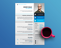 20 Free Colorful Resume Templates with Professional Des