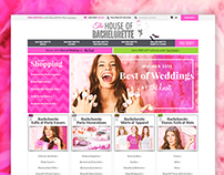 The House of Bachelorette –Volusion Client