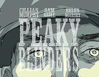 Poster Recreation: Peaky Blinders