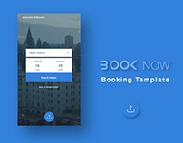 BOOK NOW UI Kit