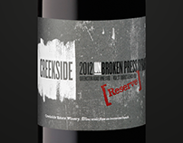 Creekside Estate Winery: Brand Identity & Label Update