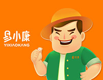 易小康品牌吉祥物优化/Yi Xiaokang brand mascot optimization