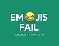 Emojis fail