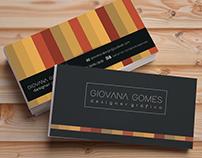 Giovana Gomes   Cartão de visita
