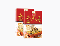 Packaging design of DURU BULGUR for Chinese market.
