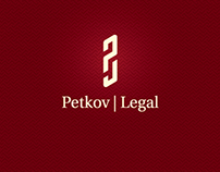 PETKOV LEGAL Law Office Logotype