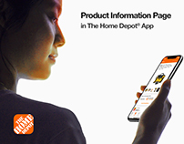 The Home Depot® App - Product Information Page