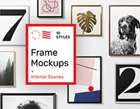 Poster Frame Mockups