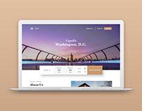 Capella Hotel Homepage Design
