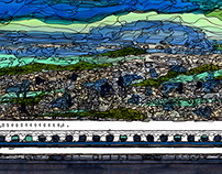 panorama Series Mishima Station~noon~