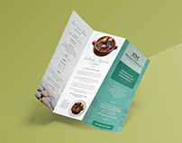 Brochure - Kitchen Morocco Menu