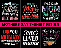 Mothers Day T-Shirt Design.